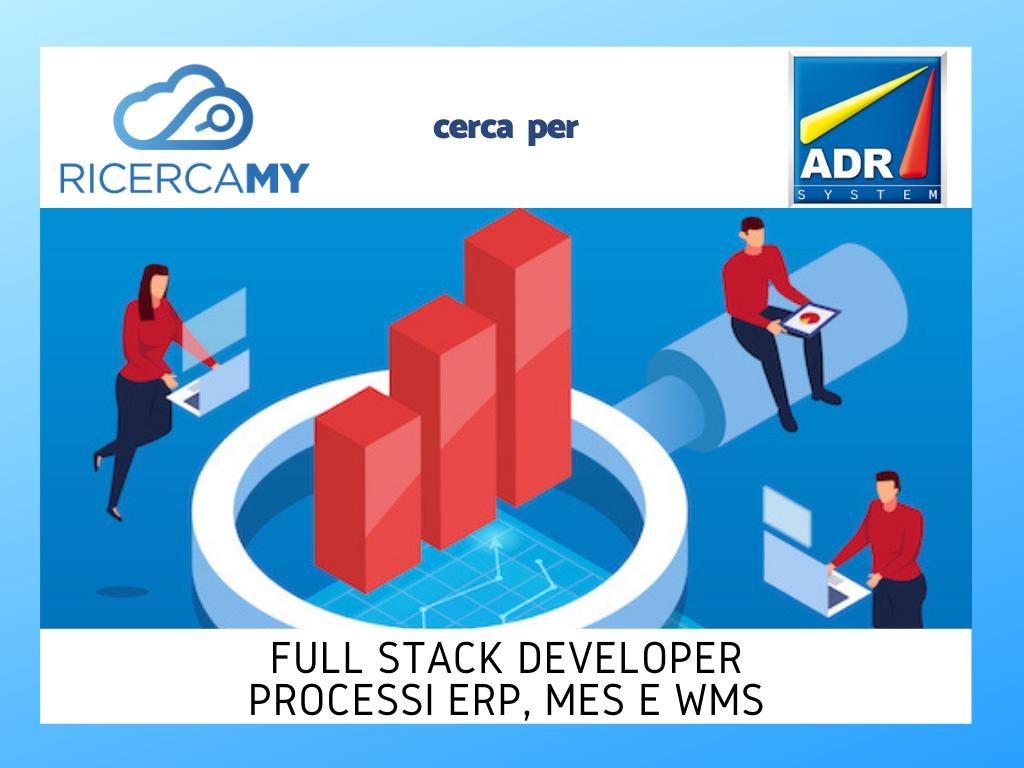 Full Stack Developer – Processi Erp, Mes e Wms