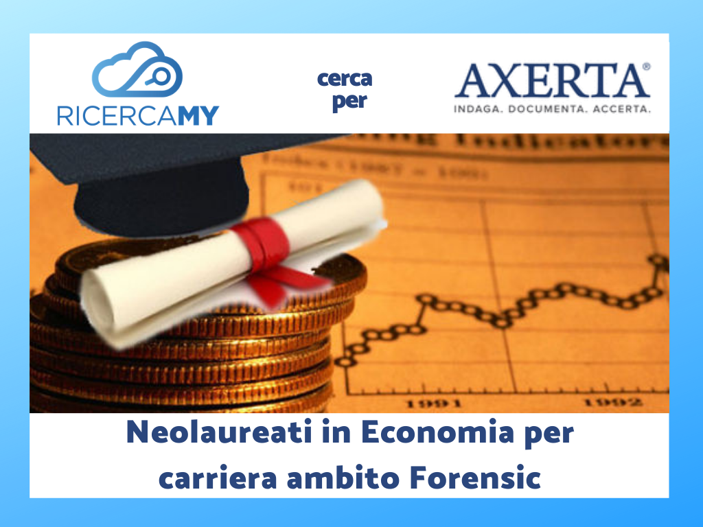Neolaureati in Economia per carriera in ambito Forensic