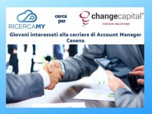 Giovani interessati alla carriera di Account Manager – Fintech – Cesena