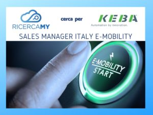 Sales Manager Italy e-mobility