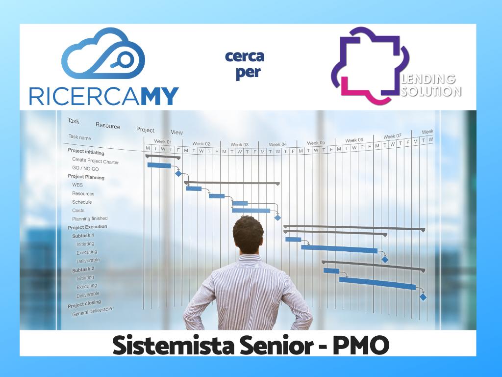 Sistemista Senior – PMO