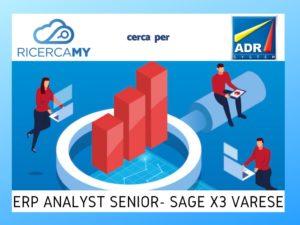 ERP ANALYST SENIOR SAGE X3