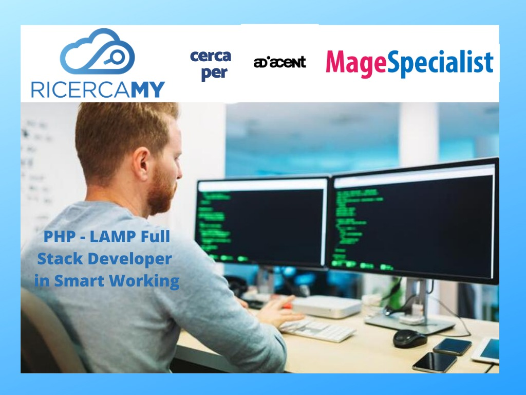 PHP – LAMP FULL STACK DEVELOPER  in SMART WORKING