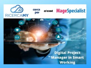 DIGITAL PROJECT MANAGER – FULL REMOTE WORKING