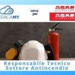 Responsabile Tecnico – Settore Antincendio