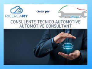 Read more about the article Scaduto:Consulente Tecnico Settore Automotive – Automotive Consultant