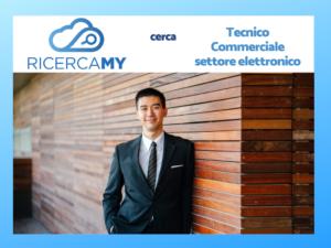 Read more about the article Tecnico Commerciale Settore Elettronico