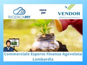 Read more about the article COMMERCIALE esperto in FINANZA AGEVOLATA – Lombardia