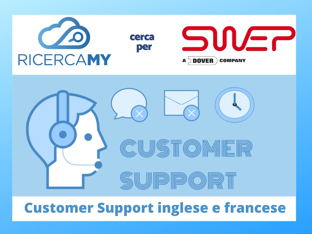 You are currently viewing Customer Support con inglese e francese